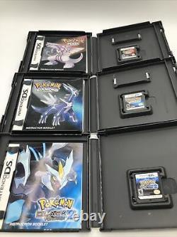 Authentique Nintendo Ds/3ds Pokemon Ensemble Complet De 31 Jeux Cib Pokémon Platine