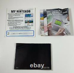 Authentique Pokemon Emerald Version Nintendo Gameboy Advance Gba Boîte Complète Cib