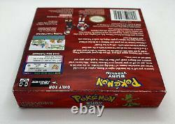 Authentique Pokemon Ruby Version Nintendo Gba Complet Jeu Vidéo Garçon Avance
