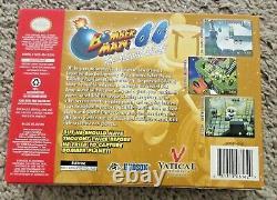 Bomberman 64 La Deuxième Attaque! Boîte Authentique Seulement Nintendo 64 N64 Pas De Jeu