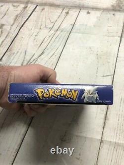Box Uniquement Pokemon Blue Version No Game (nintendo Game Boy) Original Authentic