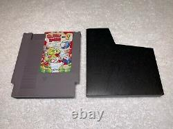 Bubble Bobble Partie 2 Îles Rainbow (nintendo Nes, 1993) Authentic Tested Nice