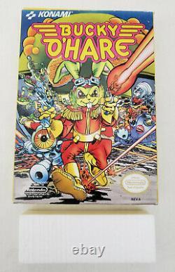 Bucky O'hare Nes Authentic Box Original Nintendo Great Cn Compléter Cib Votre Jeu