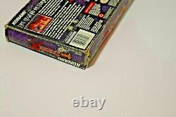 Castlevania Dracula X Snes Box Avec Inserts Authentic Rare No Game