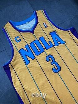 Chris Paul Nba Authentic Rev30 Jeu Procut Jersey Mesh Numbers Orléans Okc Kobe