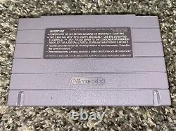 Chrono Trigger Super Nintendo (snes 1995) Belle Étiquette Authentic Tested Works Rare