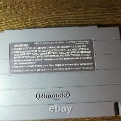 Chrono Trigger (snes Super Nintendo) Avec Manuel & Inserts, (testé, Authentique)