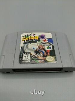 Clayfighter The Sculptor's Cut (nintendo 64, 1998) N64 Authentic Tested Works