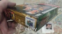 Conker's Bad Fur Day N64 Avec Boîte Et Inserts, Authentique