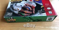 Cut Blockbuster Clay Fighter Sculpteur Exclusif Original Authentique + Box Jeu