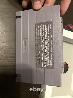 Démons Crest Super Nintendo Entertainment System Snes Cib Rare Box Authentic