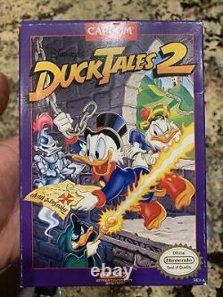 Disney's Ducktales 2 Authentic Complete Cib (nintendo) Très Nice! Pas De Réserve