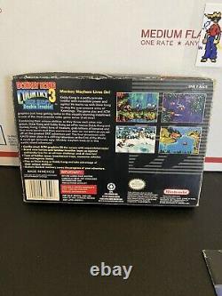 Donkey Kong Country 1 2 3 Trilogie Complète Cib Dkc Snes Super Nintendo Authentic