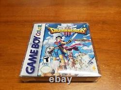 Dragon Warrior III (nintendo Game Boy Color, 2001) Cib Complete Tested Authentic