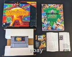 Earthbound Complete Dans Big Box Cib Authentic Super Nintendo Snes Earth Bound