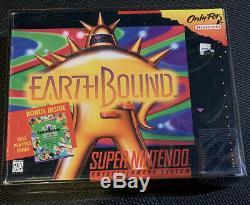 Earthbound Snes Authentique Complete In Box Nintendo Super Nintendo Dur Rechercher