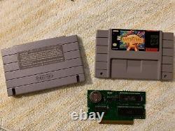 Earthbound Snes Super Nintendo Authentic Cart & Repro Box Enregistre Encore