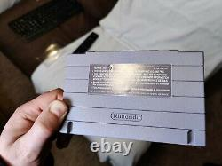 Earthbound Super Nintendo Snes Cib 100% Authentique Très Bon État. Langue Source