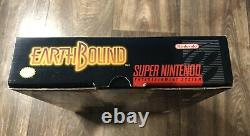 Earthbound Super Nintendo Snes Cib Authentique Avec Sniff Scratch