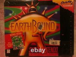 Earthbound (snes, 1992) 100% Authentique