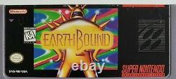 Earthbound (super Nintendo Entertainment System, 1995) Authentique, Clean, Rare