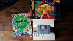 Earthbound (super Nintendo Snes, 1994) Complet En Big Box Authentic Original