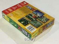F-zero X Nintendo 64 N64 Authentic Original Box Manual Complete Great Condition
