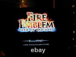 Fire Emblem Path Of Radiance (nintendo Gamecube) Authentique Testé