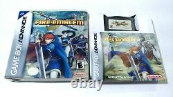 Fire Emblem (game Boy Advance Gba, 2003) Complete Authentic Tested - Cleaned