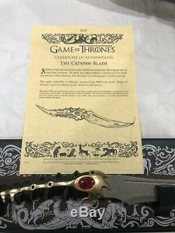 Game Of Thrones Catspaw Lame Limited Edition Authentique