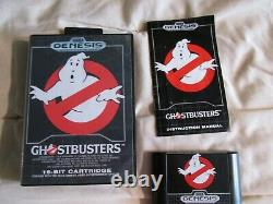Ghostbusters (sega Genesis, 1990) Complete Cib Authentic