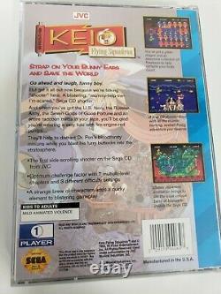 Graal Sega CD Keio Flying Squadron Cib 100% Authentique