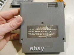 Gun Nac Nes Original Nintendo Panier De Jeu Seulement Authentique / Tested Avec Le Conseil Pics Rare