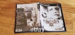 Haunting Ground Sony Playstation 2 Ps2 Jeu Complet Cib Lot Authentic & Testé