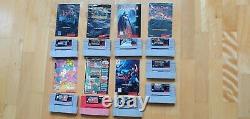 Horror Games Lot! Snes Super Nintendo! Rare! Authentique