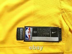 Javale Mcgee Los Angeles Lakers Nike Pro Cut Jeu Émis Jersey Kobe Authentique