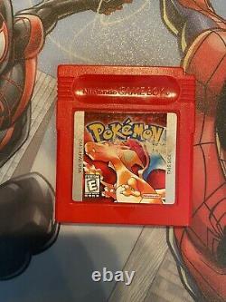 Jeux Authentiques Lot Pokémon Jaune, Rouge, Bleu, Or, Argent