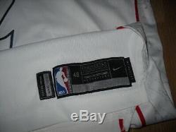 John Wall Washington Wizards Jeu Nike Publié Jersey Cut Pro Authentique Jordan 48