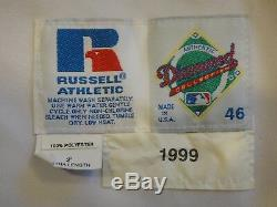 Ken Griffey Jr. 1999 Jeu Utilisé Mariners Uniforme Gris Flanelle Jersey Authentique
