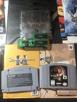 Killer Instinct Gold Nintendo 64 8 Lot De Jeu Complet Dans La Boîte Authentique