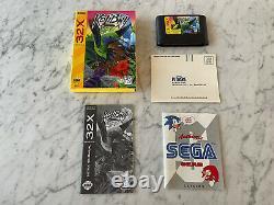 Kolibri Sega 32x 100% Complete En Boîte Cib Authentic