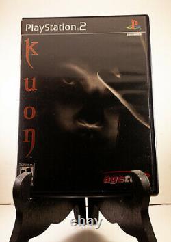 Kuon Rare Ps2 Horreur Version Us Playstation 2 Cas Complète Et Authentique Manuel