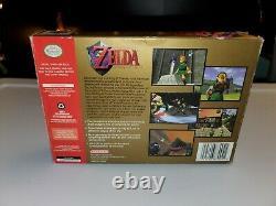 La Légende De Zelda Ocarina Du Temps (nintendo 64 N64) Complète En Boîte Authentique