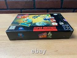 Le Ver De Terre Jim 2 Super Nintendo Snes Authentic Cib Complete Box Manuel 1 Propriétaire