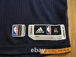 Lebron James Cleveland Cavaliers Cavs Adidas Authentique Jersey De Jeu Pro Coupe Xl+2