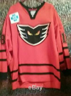 Lehigh Valley Phantoms Jersey, # 18 Froese. Authentique Jeu Jersey- 2018-2019