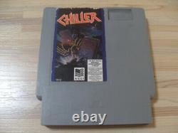 Lire! Rare Game Chiller Nes Nintendo 1990 Évaluation Authentique Originale Et Travail