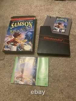 Little Samson Nintendo Nes Cib Authentic Testé