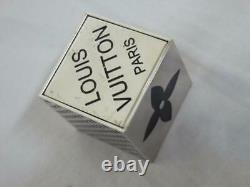 Louis Vuitton 2011 Vip Gift Limited Christmas Novelty Authentic Cube Dice Jeu