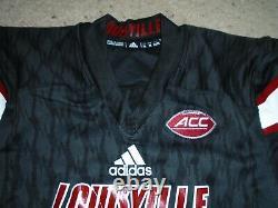 Louisville Cardinals Lamar Jackson Authentique Chandail Autographié